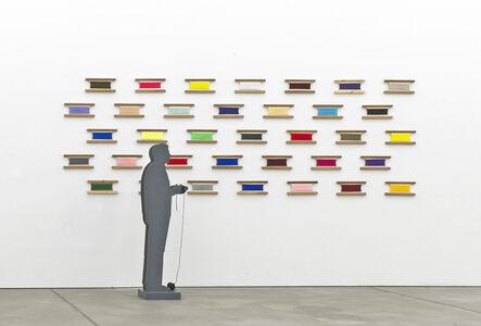 Renato Mambor, 'Fili', 2012
