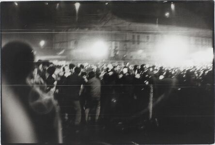 Kazuo Kitai, 'Demonstration, Yokosuka, Kanagawa (Resistance series)', 1964