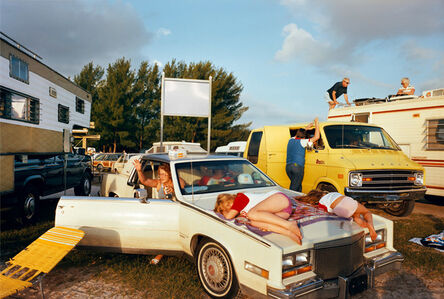 Mitch Epstein, 'Cocoa Beach I, Florida from the series Recreation', 1983