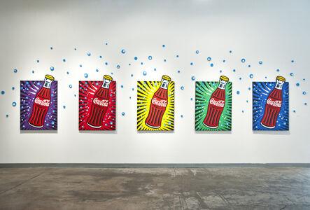 Burton Morris, 'Coke Bottles', 2019