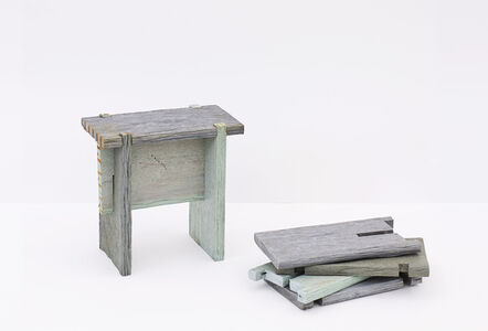 Dan Peterman, 'Nailless Benches', 2009