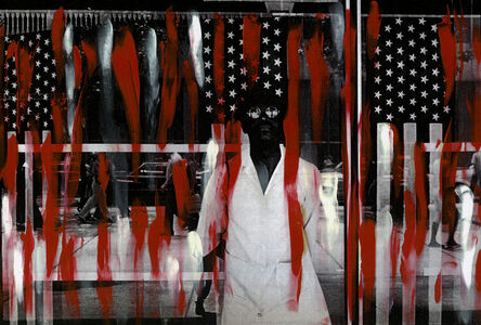 Ming Smith, 'America Seen Through Stars and Stripes, New York City, New York Painted', 1976