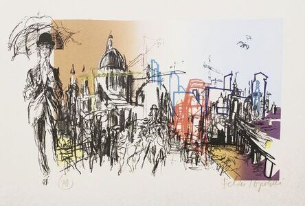 Feliks Topolski, 'From the London Suite', 1973
