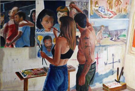 Zamir Shatz, 'Painting a Friend', 2017