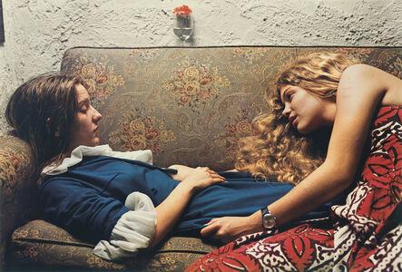 William Eggleston, 'Untitled, 1974 (Karen Chatham, left, with the artist's cousin Lesa Aldridge, in Memphis, Tennessee) ', 1974