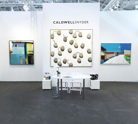 Caldwell Snyder Gallery at Art Market San Francisco 2016, installation view