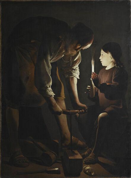 Georges de La Tour, 'Saint Joseph the Carpenter', 1642