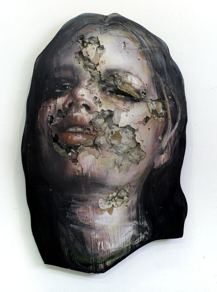 juan miguel palacios, '3D Portrait Painitng of Woman: 'The Wanders II'', 2019