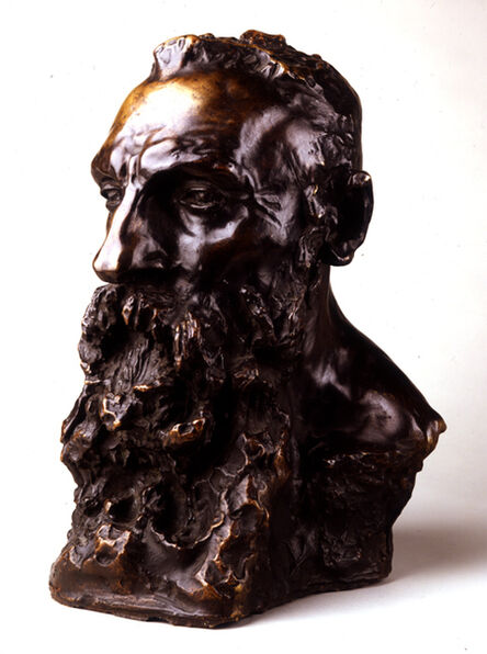 Camille Claudel, 'Bust of Rodin', ca. 1889
