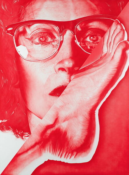 Victor Rodriguez, 'Red 2T Foot: Glasses', 2013
