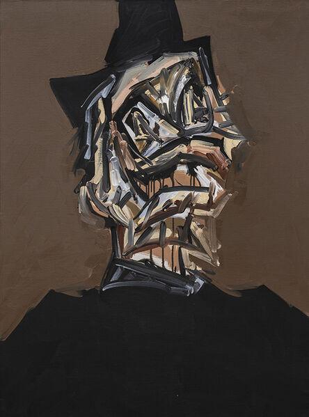 Antonio Saura, 'Retrato imaginario de Felipe II', 1983