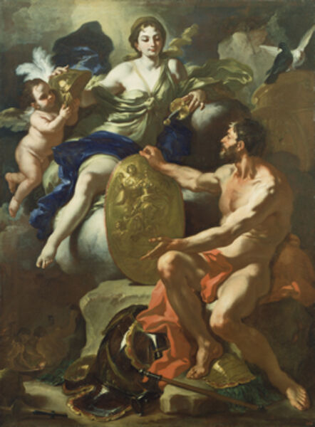 Francesco Solimena, 'Venus at the Forge of Vulcan', 1704