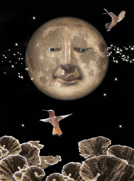 Janice Hathaway, 'Cheshire Moon', 2018
