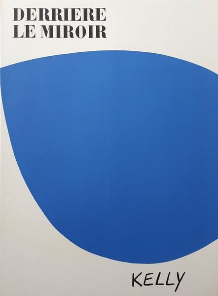 Ellsworth Kelly, 'Derrière Le Miroir No. 110 (front cover)', 1958