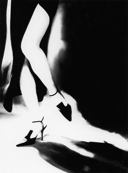 Lillian Bassman, 'Tra Moda e Arte: Teresa in a gown by Laura Biagiotti and shoes by Romeo Gigli', 1996