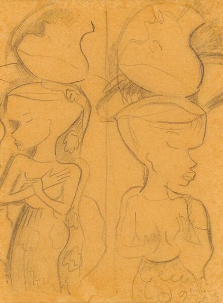Alexis Preller, 'Drawings, five'