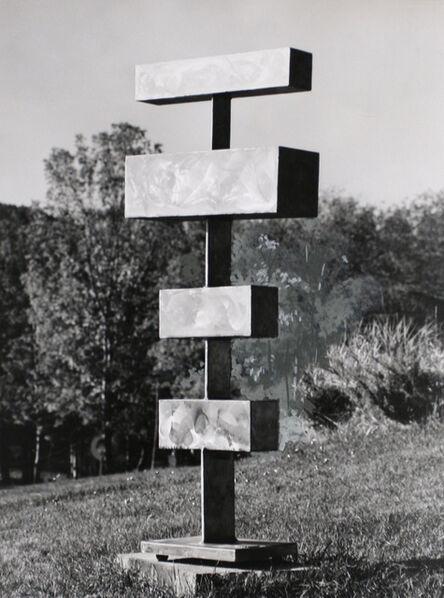 David Smith (1906-1965), 'Four Units Unequal', 1960
