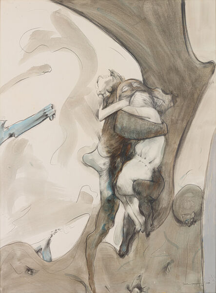 Dorothea Tanning, 'Different People', 1986