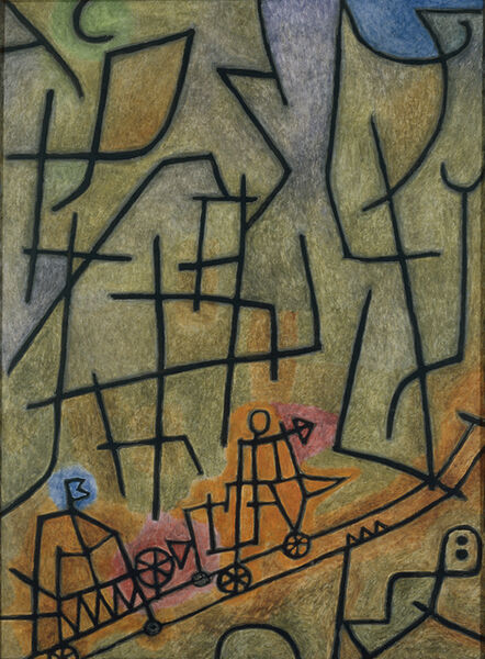 Paul Klee, ' Conquest of the Mountain', 1939