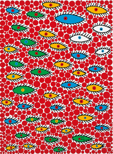 Yayoi Kusama, 'Eyes Flying in the Sky', 2006