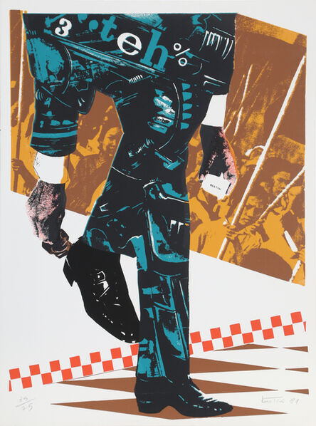 Gianni Bertini, 'Senza Titolo', 2002