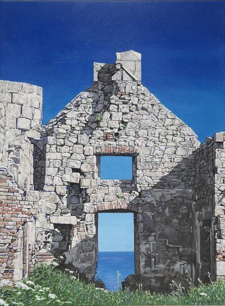 Agnes Murray, 'Slains Castle with the North Sea 1', 2020