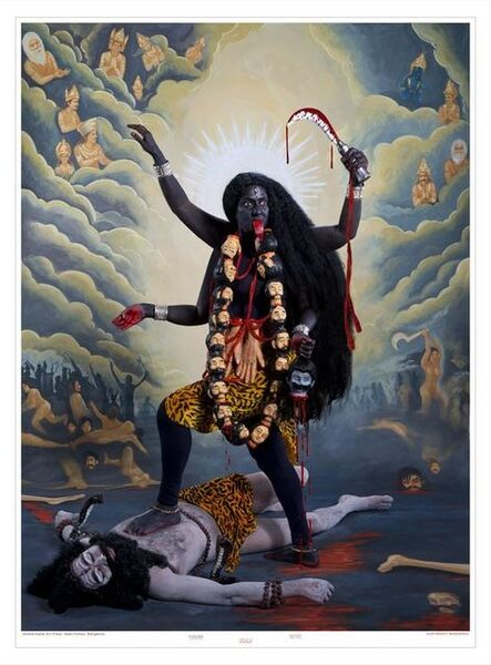 Pushpamala N., 'Kali (After 1908 Calcutta Art Studio Print)', 2014