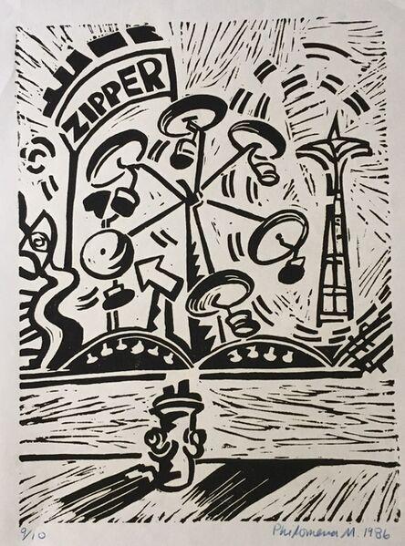 Philomena Marano, 'Little Zipper? Coney Island', 1986