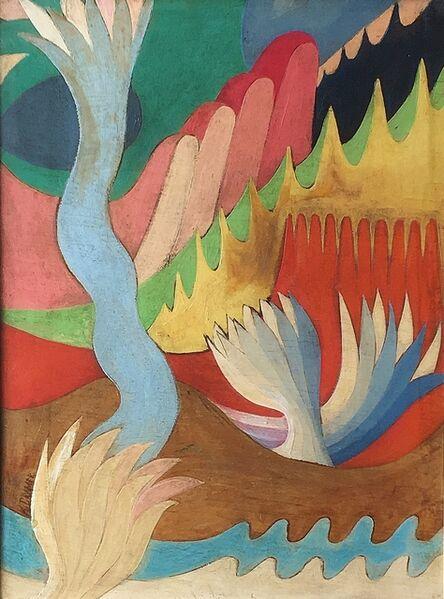 Konrad Cramer, 'Untitled, Modernist Composition'