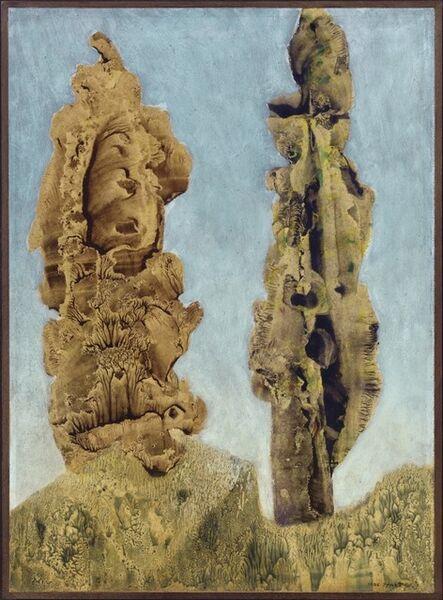 Max Ernst, 'Les peupliers', 1939