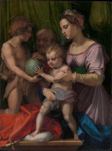 Andrea del Sarto, 'The Holy Family with the Young Saint John the Baptist'