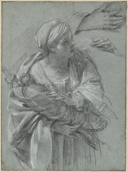 Simon Vouet, 'Creusa Carrying the Gods of Troy', ca. 1635