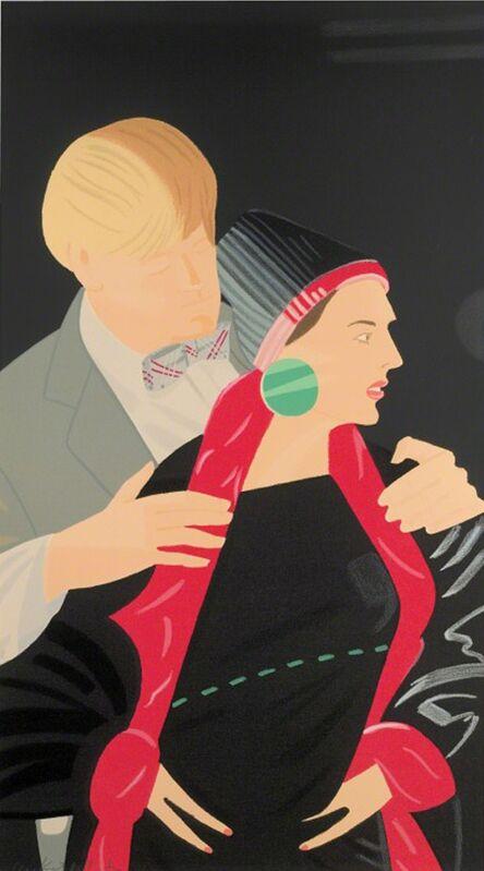 Alex Katz, 'Pas de Deux V', 1995, Print, Screenprint in colors, michael lisi / contemporary art