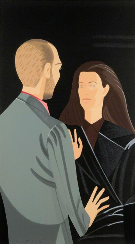 Alex Katz, 'Pas de Deux III', 1995, Print, Screenprint in colors, michael lisi / contemporary art