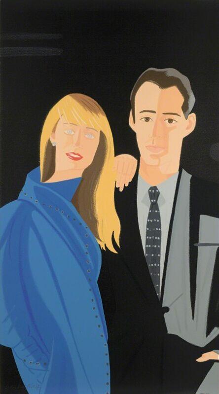 Alex Katz, 'Pas de Deux I', 1995, Print, Screenprint in colors, michael lisi / contemporary art