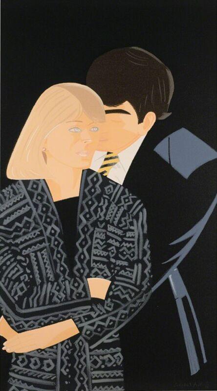 Alex Katz, 'Pas de Deux IV', 1995, Print, Screenprint in colors, michael lisi / contemporary art