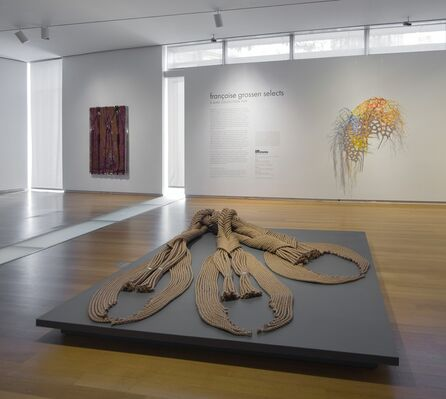 Françoise Grossen Selects, installation view