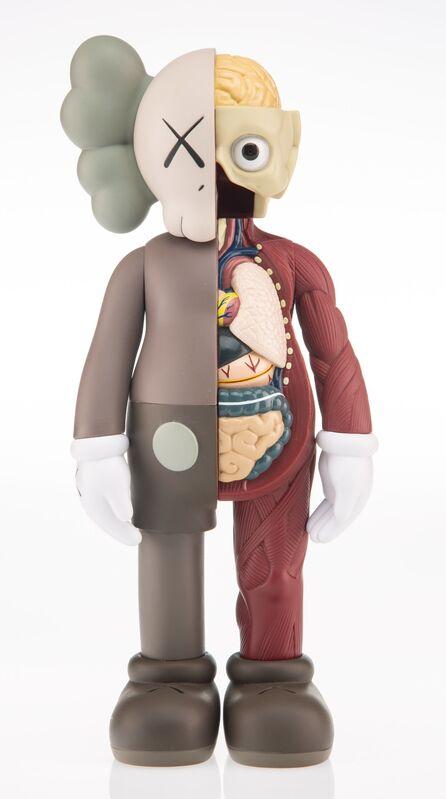 KAWS, 'Dissected Companion (Brown)', 2016, Sculpture, Painted cast vinyl, Heritage Auctions