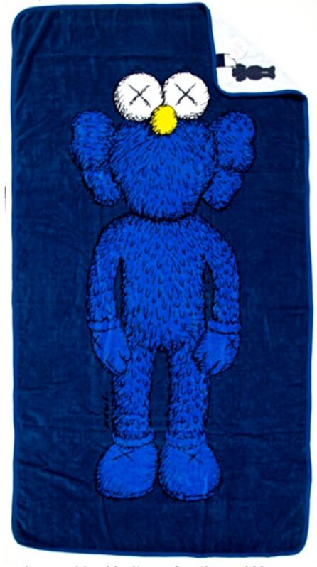 KAWS, 'Oversized Beach Towel/Wall Hanging', 2016, Ephemera or Merchandise, Limited Edition Silkscreen on 100% Cotton with Original Tags attached, Alpha 137 Gallery