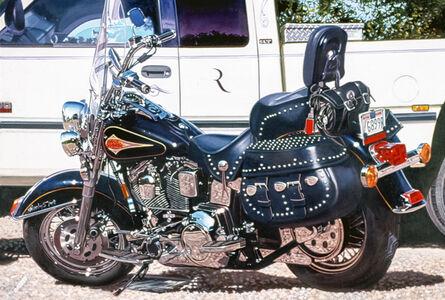 Tom Blackwell, 'Black Harley, Late Afternoon', 2001