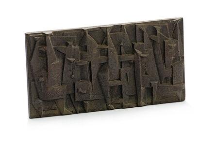 Edoardo Villa, 'Abstract Plaque'