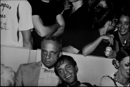 Marcia Resnick, 'Roy Cohn and Steve Rubell at the Mudd Club', 1979/c. 2001