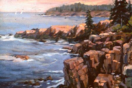 Frederick Kubitz, 'Acadia National Park Shore Road', 1997