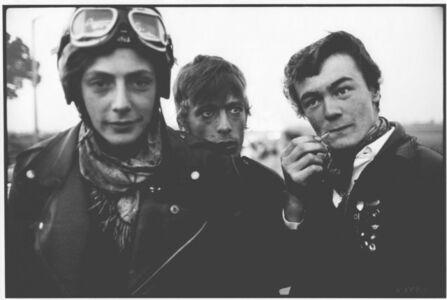 John 'Hoppy' Hopkins, 'Bikers at the Ace Café, London', 1964