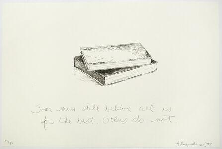 Allen Ruppersberg, 'Untitled (Some Men Still Believe...)', 1878