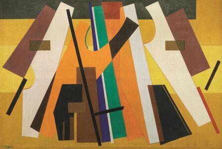 Mauro Reggiani, 'Composition a ventaglio', 1955