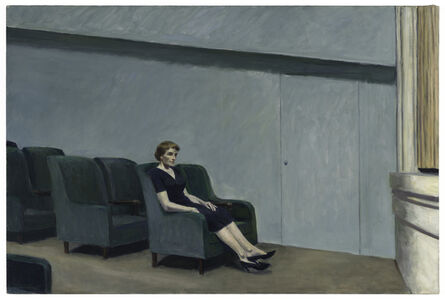 Edward Hopper, 'Intermission', 1963