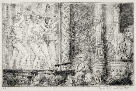Reginald Marsh, 'Irving Place Burlesque (#2) - Proof Impression', 1928