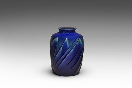 Tokuda Yasokichi III, 'Jar with Wave Pattern', 2005
