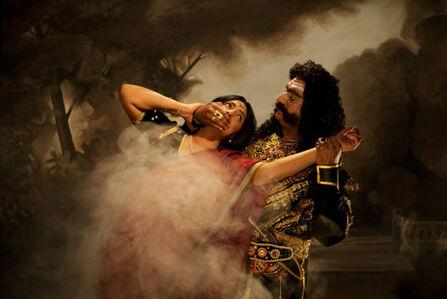 Pushpamala N., 'Apaharana/Abduction - The Mist ', 2012